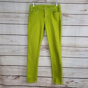 Michael Kors | Lime Green Skinny Ankle Jeans